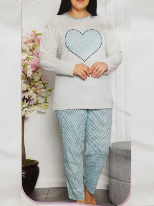 Pijama dama din bumbac  - PJM06 [0]