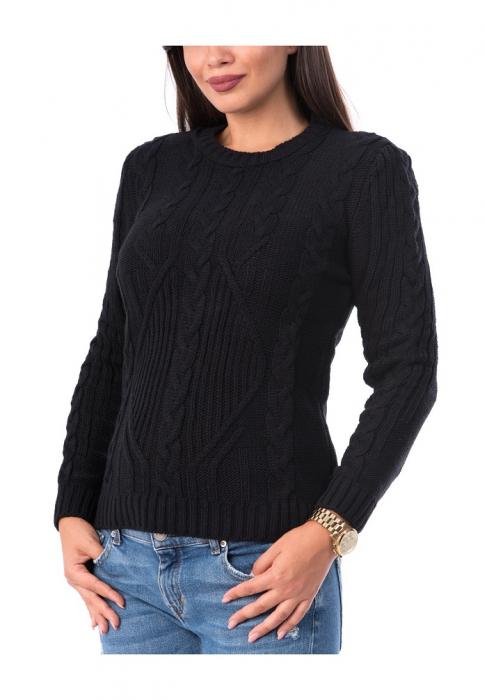 Pulover dama din tricot cu maneca lunga - P8002 0