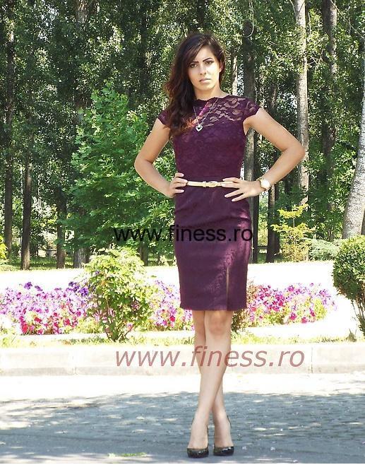 Rochie dama din dantela_ Ecaterina 3