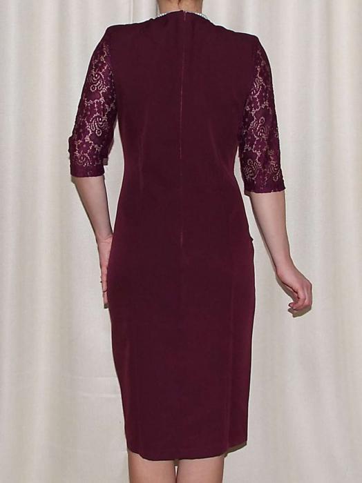 Rochie eleganta cu maneca trei sferturi - Anabela Grena 1