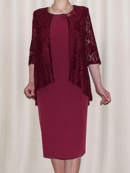 Rochie eleganta cu maneca trei sferturi - Anastasia Grena 0