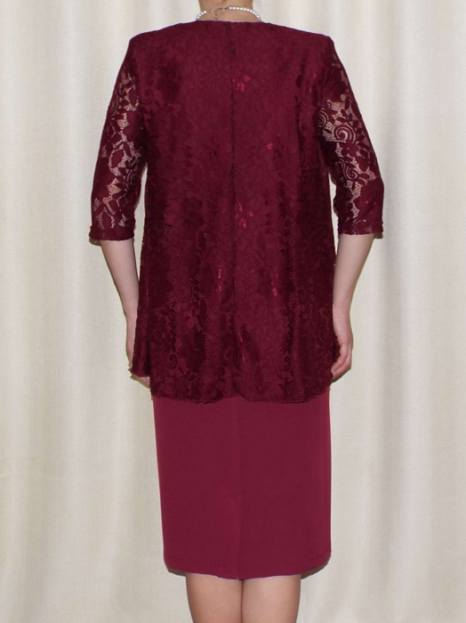 Rochie eleganta cu maneca trei sferturi - Anastasia Grena 1
