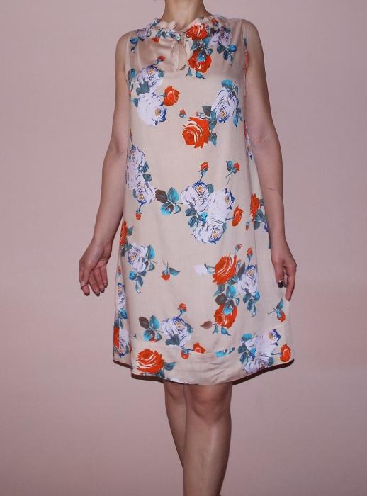 Rochie vaporoasa de vara cu imprimeu floral - Lara 2