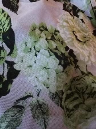 Bluza dama cu imprimeu si maneca scurta - Victoria Verde [2]