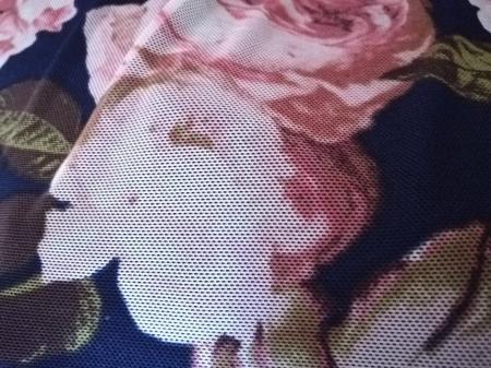Bluza dama lejera cu imprimeu floral - Victoria Bleumarin [2]