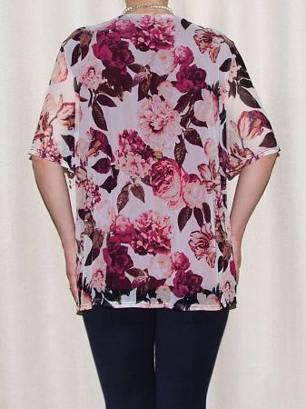 Bluza dama lejera cu maneca scurta - Victoria Visiniu1