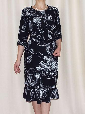 Costum dama elegant din doua piese - Aurelia Negru [1]