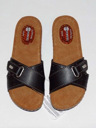 Papuci dama cu catarama reglabila si talpa anatomica cu gel - Gezer 3 [2]
