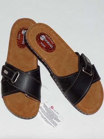 Papuci dama cu catarama reglabila si talpa anatomica cu gel - Gezer 3 [1]