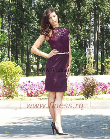 Rochie dama din dantela_ Ecaterina1