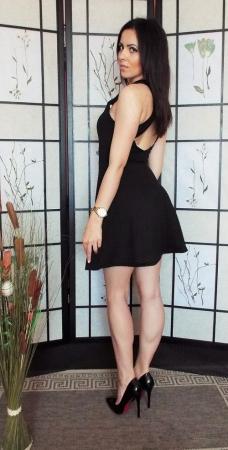 Rochie dama neagra2