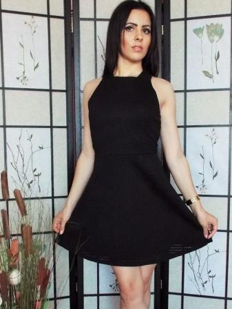 Rochie dama neagra0