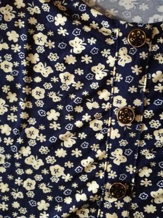 Rochie de zi cu buzunare si maneca scurta - Miriam 73
