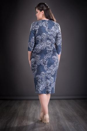 Rochie de zi cu fermoar si maneca trei sferturi - Iuliana [1]