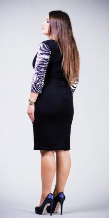 Rochie de zi din jerse cu maneca trei sferturi - Anais2