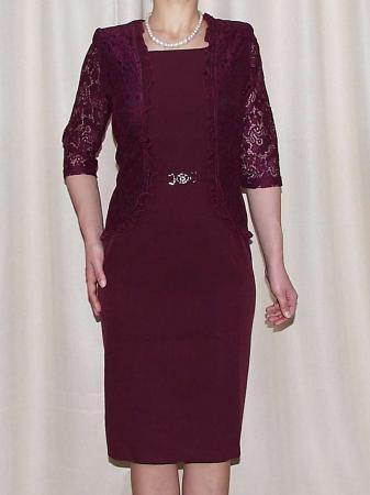 Rochie eleganta cu maneca trei sferturi - Anabela Grena0