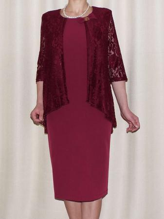 Rochie eleganta cu maneca trei sferturi - Anastasia Grena0