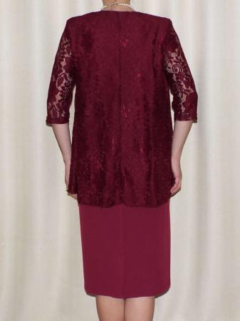 Rochie eleganta cu maneca trei sferturi - Anastasia Grena1