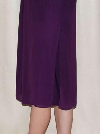 Rochie eleganta din voal cu maneca scurta - Ileana Bleumarin2