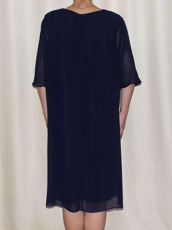 Rochie eleganta din voal cu maneca scurta - Ileana Bleumarin1