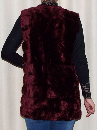 Vesta dama din blana ecologica - Melisa Grena1