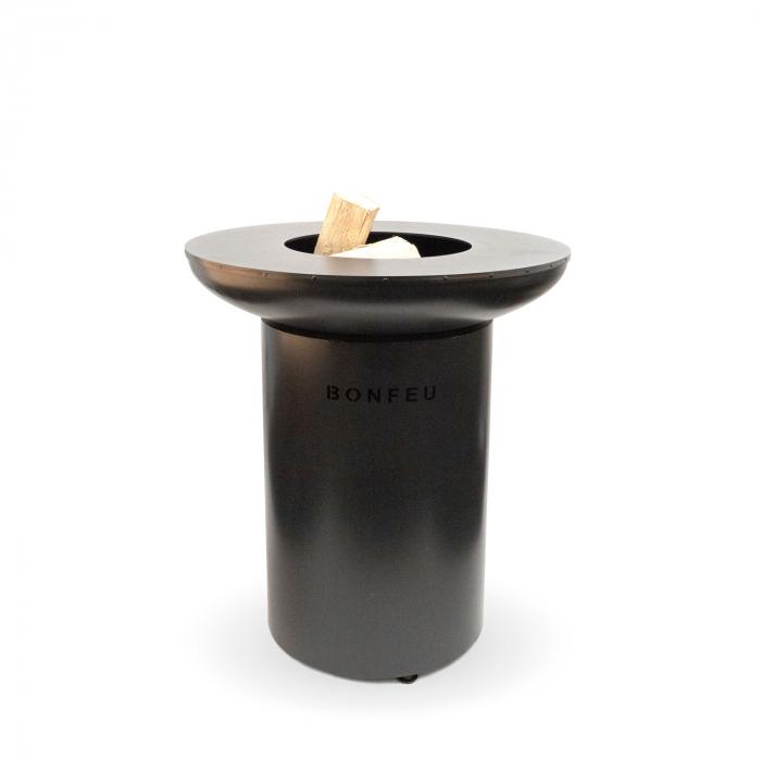 Grătar cu plită BonBiza Black 1