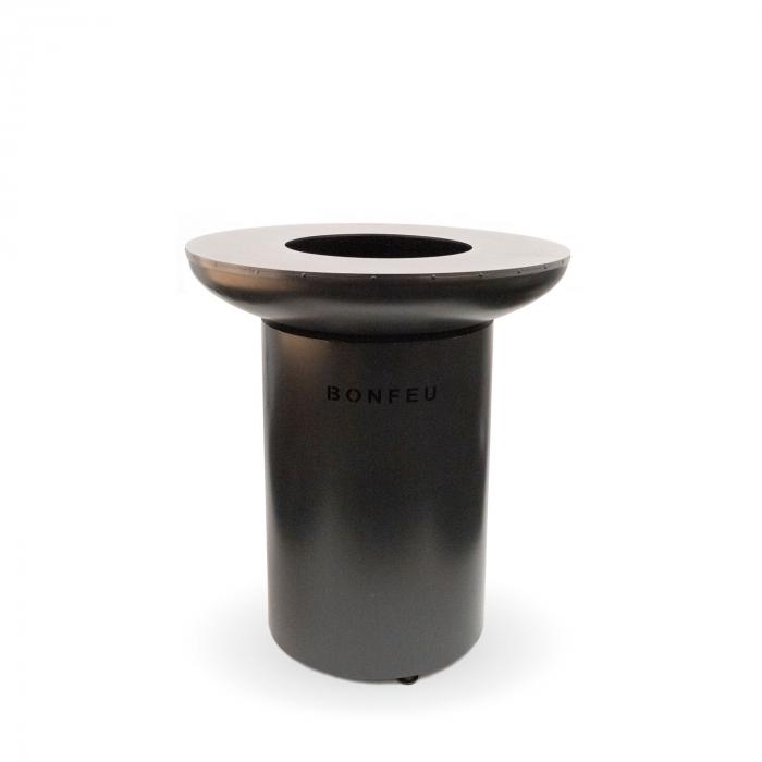 Grătar cu plită BonBiza Black 3