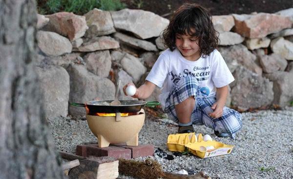 Mini bol ceramic pentru foc 2