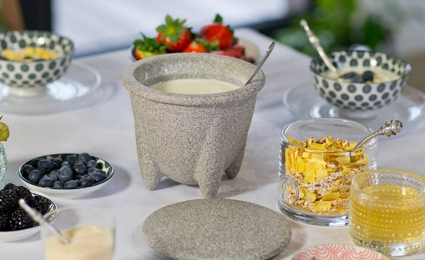 Vas ceramic Granicium® pentru preparat iaurt 3
