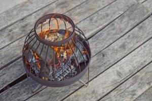 Fire Pit Nida, D45 cm4