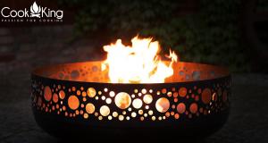 Vatră de foc Boston, D80 x H33 cm1
