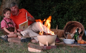 Bol ceramic pentru foc, D34 cm1