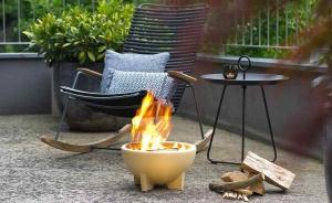 Bol ceramic pentru foc, D34 cm3