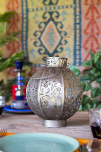Felinar Morocco, H26 x D21 cm3