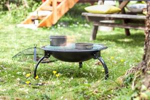 Grătar pliabil Camping, D54 cm1