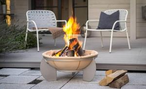 Fire Pit ceramic Feurio, D65 cm3