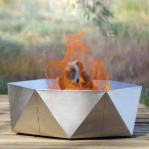Fire Pit Junda, inox, D75 cm0