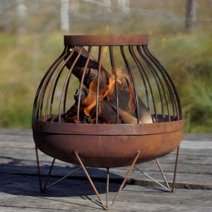 Fire Pit Nida, D45 cm0