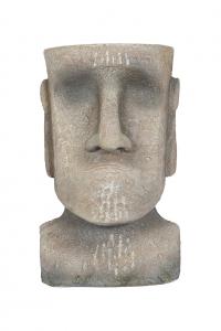 Ghiveci Moai Mediu, H26 x L16 x l17 cm1