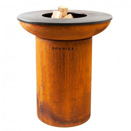 Grătar cu plită BonBiza - D 80cm x H 100cm1