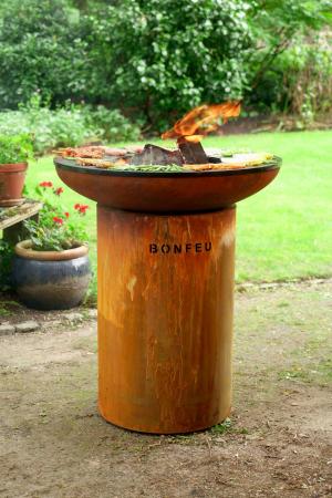 Grătar cu plită BonBiza - D 80cm x H 100cm2