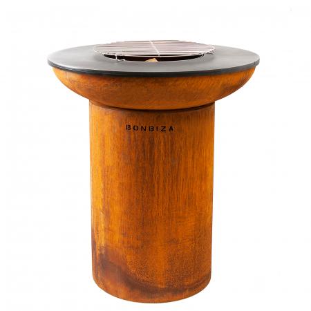 Grătar cu plită BonBiza - D 80cm x H 100cm0