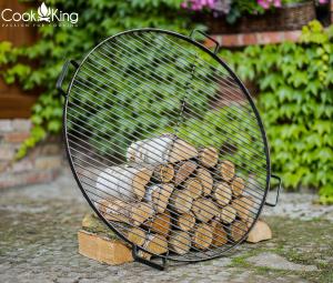 Grătar pentru vatră de foc, oțel solid2