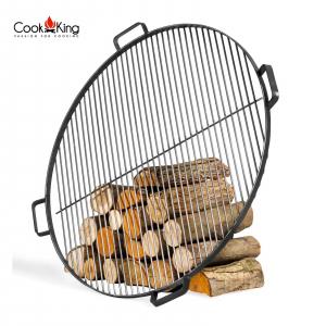 Grătar pentru vatră de foc, oțel solid0