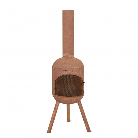 Încălzitor terasă BonSolo Rust, D34 x H124 cm1