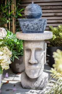 Măsuță de grădină Moai, H52 x D34 cm4