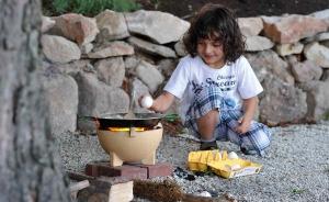 Mini bol ceramic pentru foc, D24 cm2