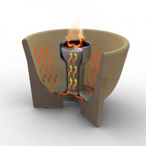 Sfeșnic ceramic interior CERANATUR®5