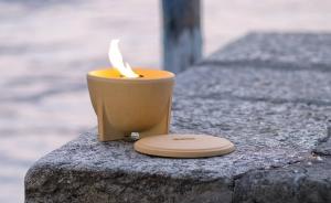 Sfeșnic ceramic exterior CERANATUR®3