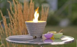 Sfeșnic ceramic exterior GRANICIUM®3